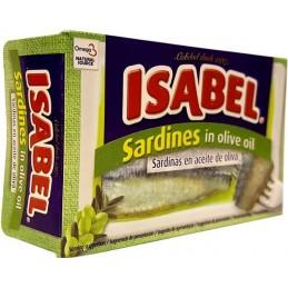 ISABEL SARDINE A L'UILE...